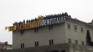 Generation Identitaire Velká mešita Poitiers