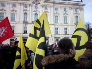 Generace Identity Národni demokracie Praha 6. února 2016