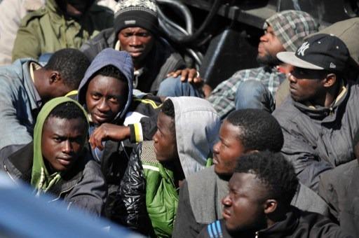 Afričtí imigranté