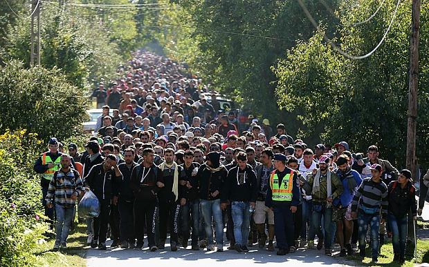 Do Evropy proudí záplava imigrantů