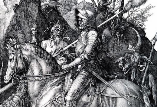 Albrecht Dürer - Ritter, Tod und Teufe