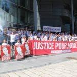 Demonstrace za spravedlnost pro Adriena