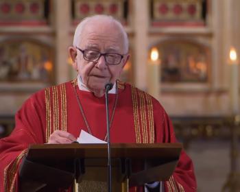 Projev prof. Piťhy v katedrále sv. Víta
